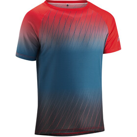 Gonso Meta - Maillot manches courtes Homme - rouge/bleu